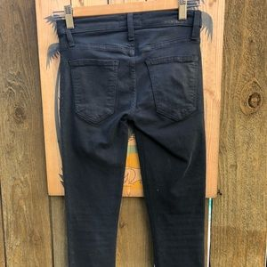 Current/Elliott Jeans - Current Elliott THE STILETTO COATED COLONIAL BLUE